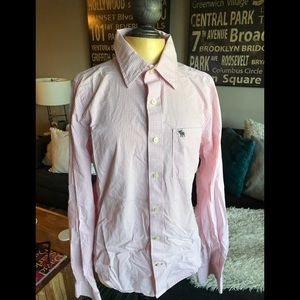 Abercrombie & Fitch: Long-Sleeve Button down